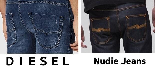 DIESELとNudie Jeans